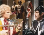 Colin Baker & Michael Jayston  DOCTOR WHO  Genuine Signed Autograph,  5225